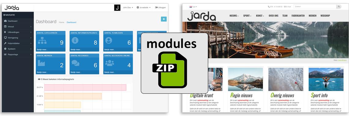 FREE Modules for Jarda CMS