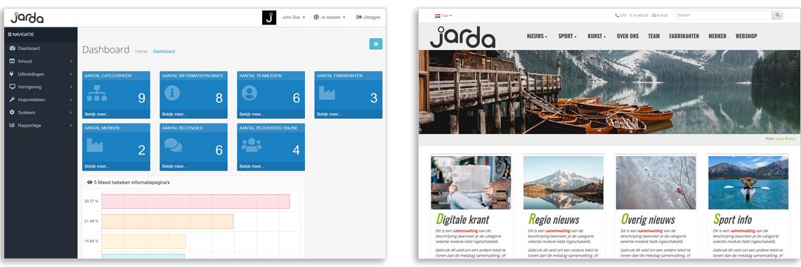 Download Jarda CMS for FREE!